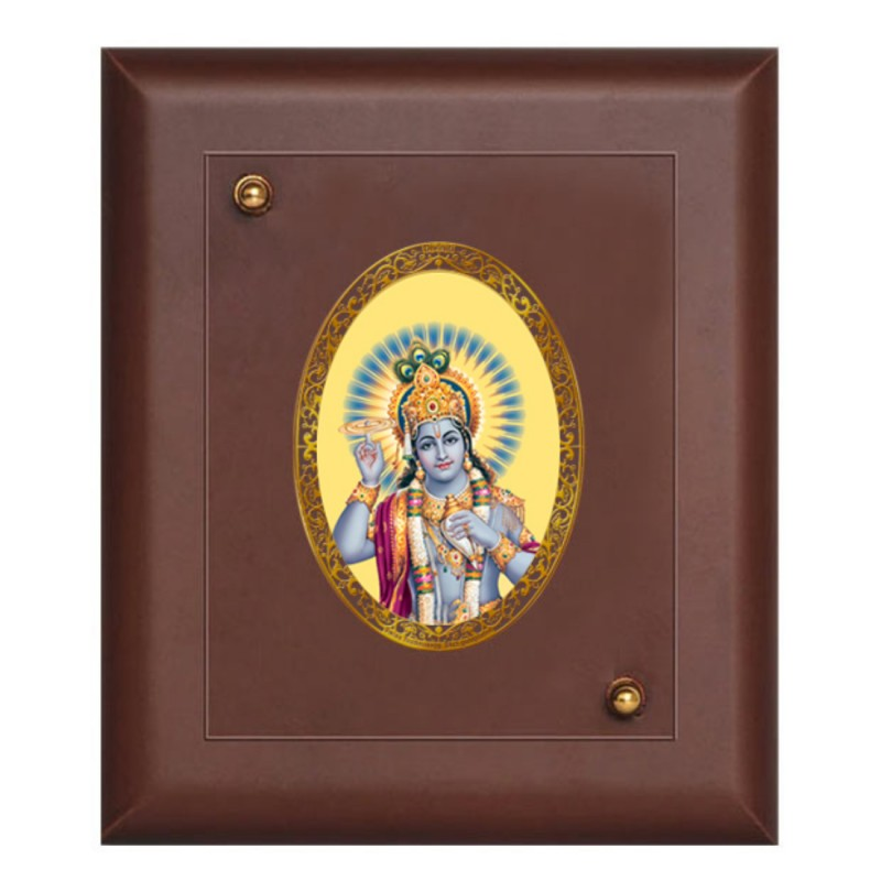 24K GOLD PLATED MDF FRAME SIZE 1 ROYALE COLOR NARAYAN