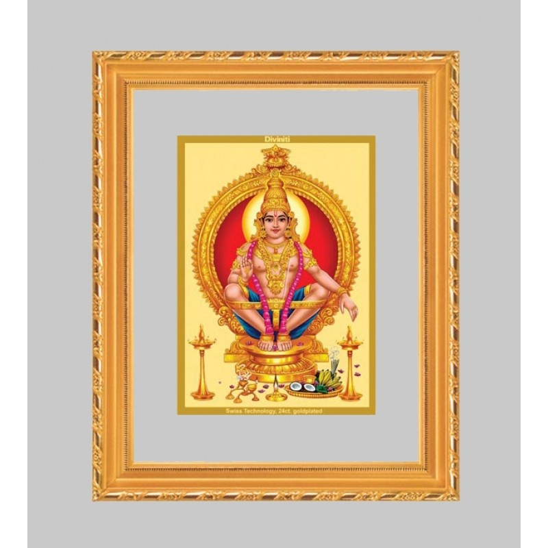 24K GOLD PLATED DG FRAME 103 SIZE 1 CLASSIC COLOR AYYAPAN