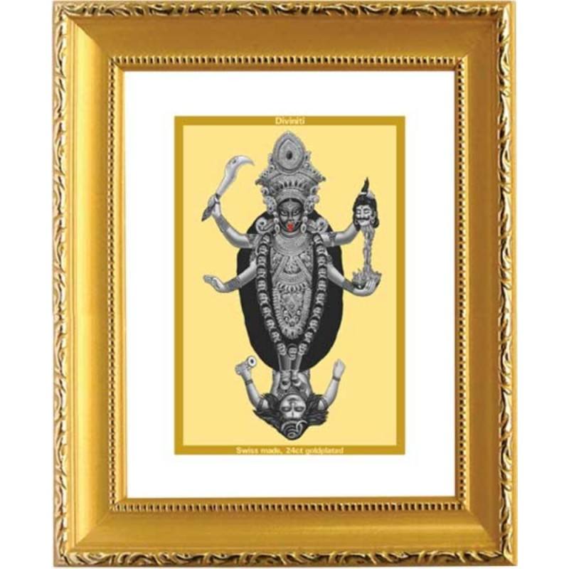24K GOLD PLATED DG FRAME 101 SIZE 1 CLASSIC GOLD MAA KALI