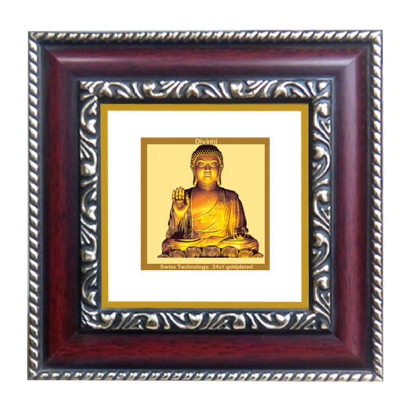 24K GOLD PLATED DG FRAME 105 SIZE 1A CLASSIC COLOR BUDDHA -1