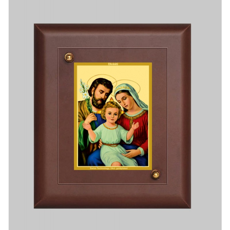 MDF FRAME SIZE1 CLASSIC COLOR  RECTANGULAR HOLY FAMILY