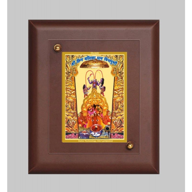24K GOLD PLATED MDF FRAME SIZE 1 CLASSIC COLOR CHINTPOORNI MAA