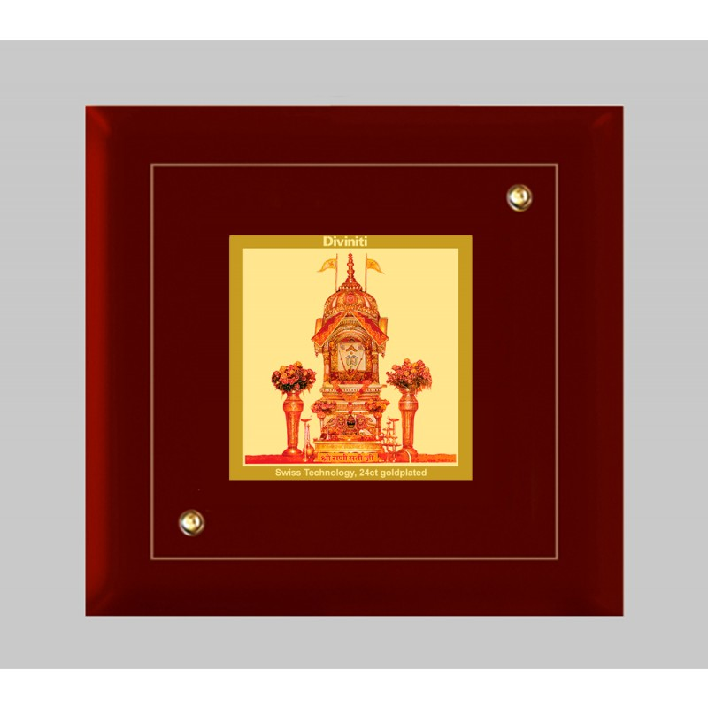 24K GOLD PLATED MDF FRAME SIZE 1A CLASSIC COLOR RANI SATI