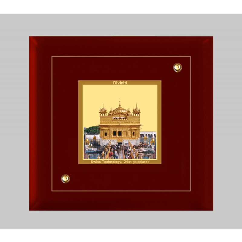 MDF FRAME SIZE 1A CLASSIC COLOR SQUARE GOLDEN TEMPLE