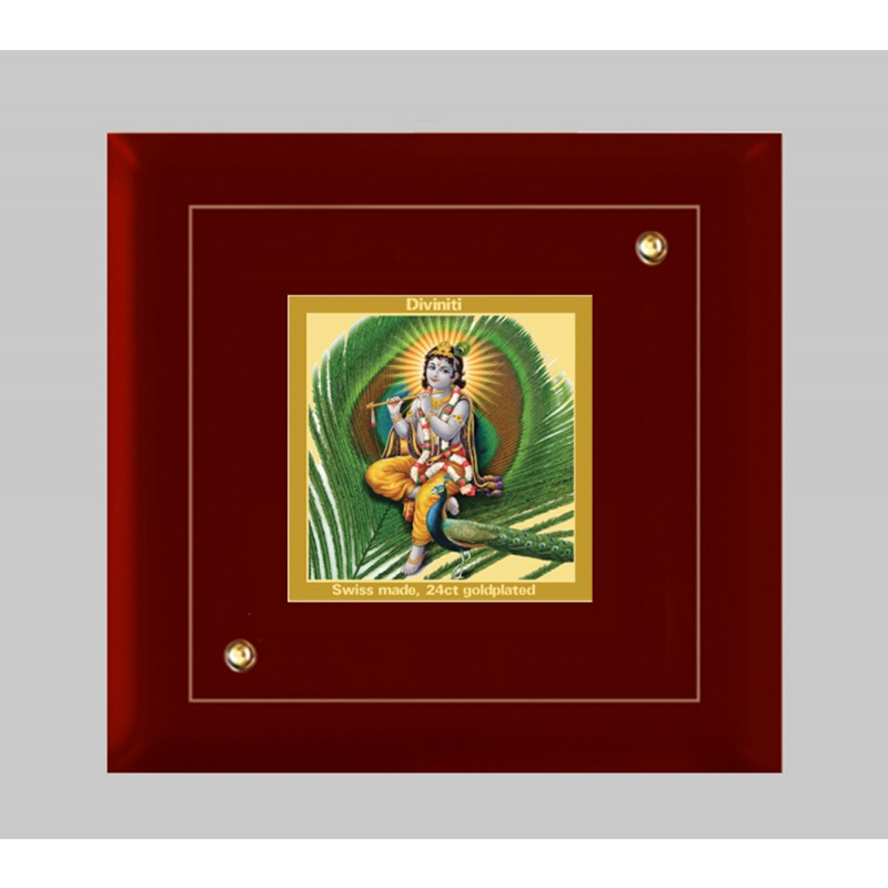 MDF FRAME SIZE 1A CLASSIC COLOR SQUARE FEATHER KRISHNA