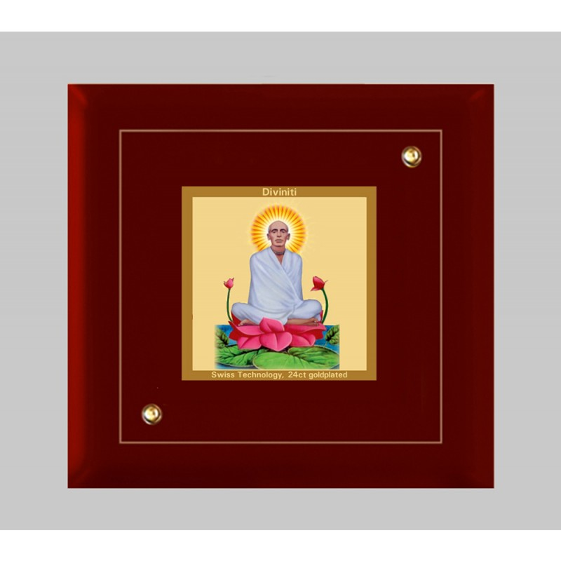 24K GOLD PLATED MDF FRAME SIZE 1A CLASSIC COLOR RAM THAKUR
