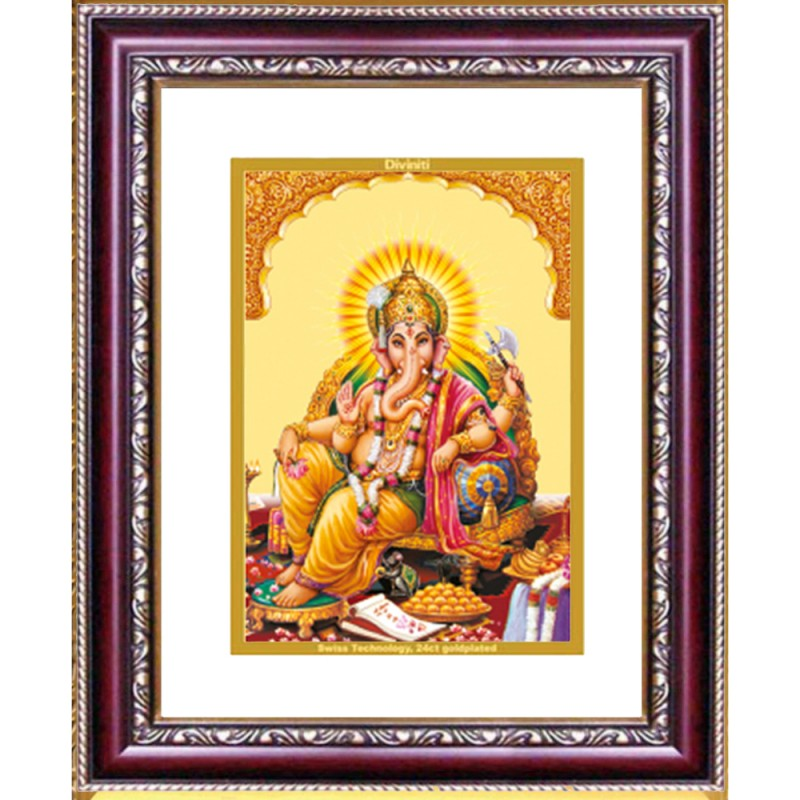 DG FRAME 105 SIZE 2 CLASSIC COLOR RECTANGULAR GANESHA SIDE POSE