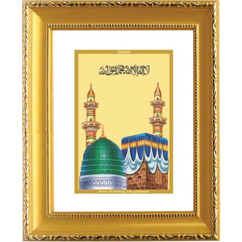 24K GOLD PLATED DG FRAME 101 SIZE 1 CLASSIC GOLD MACCA MADINA