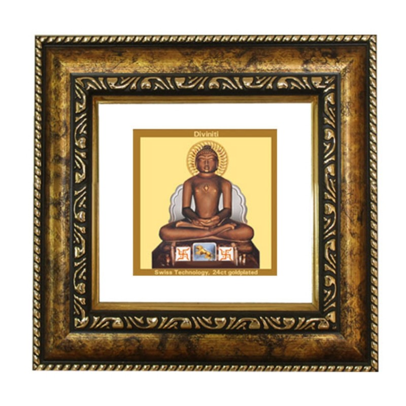 24K GOLD PLATED DG FRAME 113 SIZE 1A CLASSIC COLOR  MAHAVIR