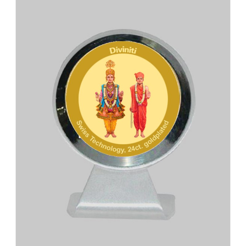 24K GOLD PLATED MCF 1CR CLASSIC COLOR SWAMI NARAYAN