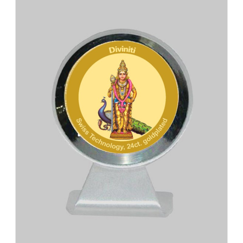 24K GOLD PLATED MCF 1CR CLASSIC COLOR MURUGAN