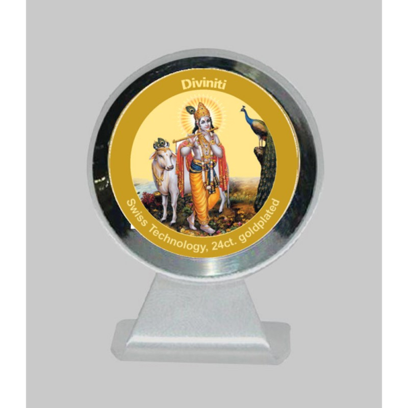 MCF 1CR CLASSIC COLOR  CIRCULAR  KRISHNA WITH COW
