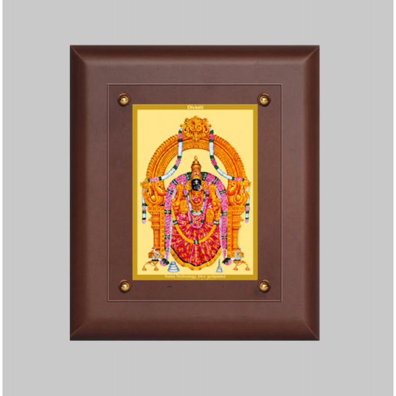 24K GOLD PLATED MDF FRAME SIZE 2.5 CLASSIC COLOR PADMAWATI