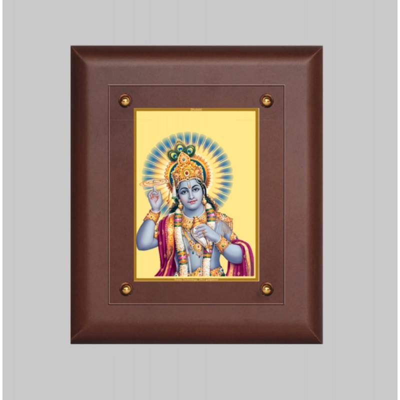 24K GOLD PLATED MDF FRAME SIZE 2.5 CLASSIC COLOR NARAYAN