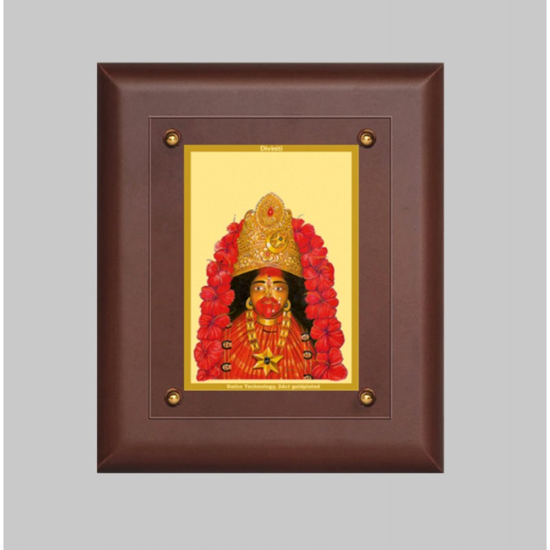 24K GOLD PLATED MDF FRAME SIZE 2.5 CLASSIC COLOR MAA TARA