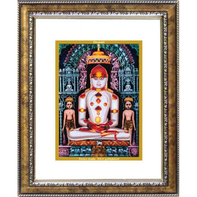 24K GOLD PLATED DG FRAME 113 SIZE 2 CLASSIC COLOR ADINATH