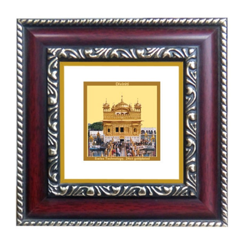 24K GOLD PLATED DG FRAME 105 SIZE 1A CLASSIC COLOR GOLDEN TEMPLE