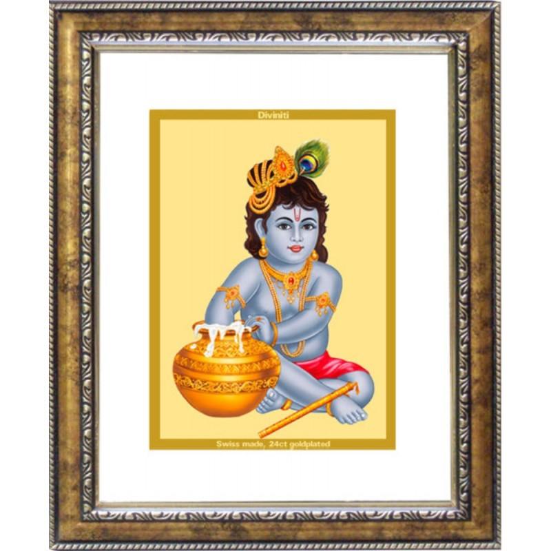 24K GOLD PLATED DG FRAME 113 SIZE 2 CLASSIC COLOR BAL GOPAL