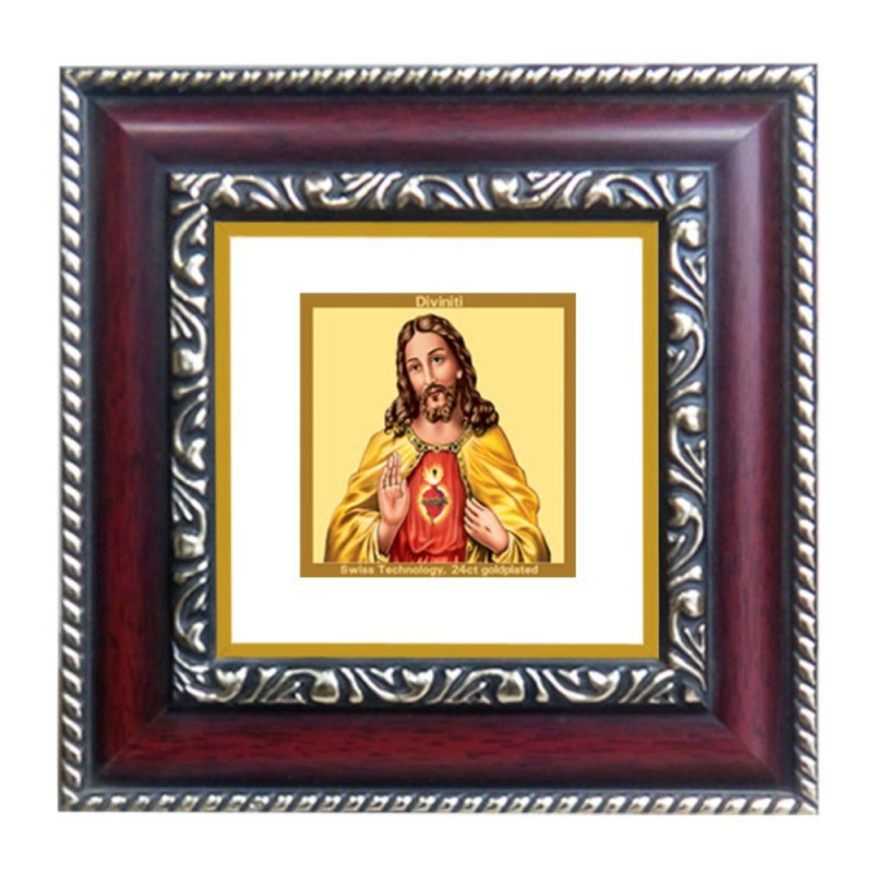 24K GOLD PLATED DG FRAME 105 SIZE 1A CLASSIC COLOR JESUS