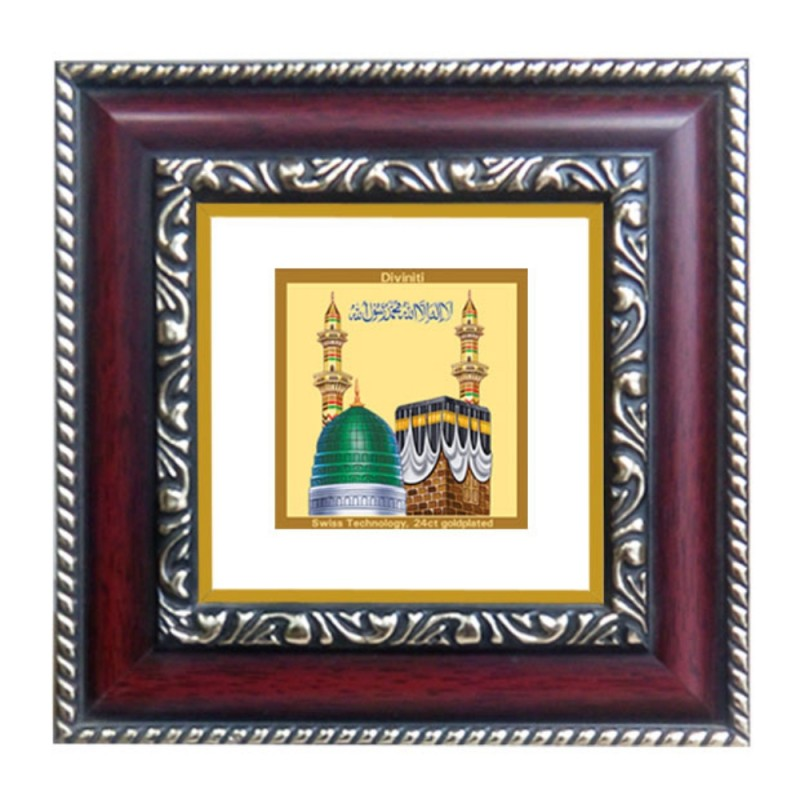 24K GOLD PLATED DG FRAME 105 SIZE 1A CLASSIC COLOR MACCA MADINA