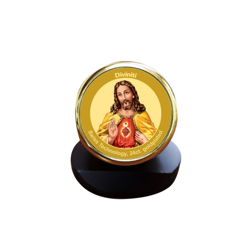 24K GOLD PLATED MCF 1C GLD CLASSIC COLOR JESUS