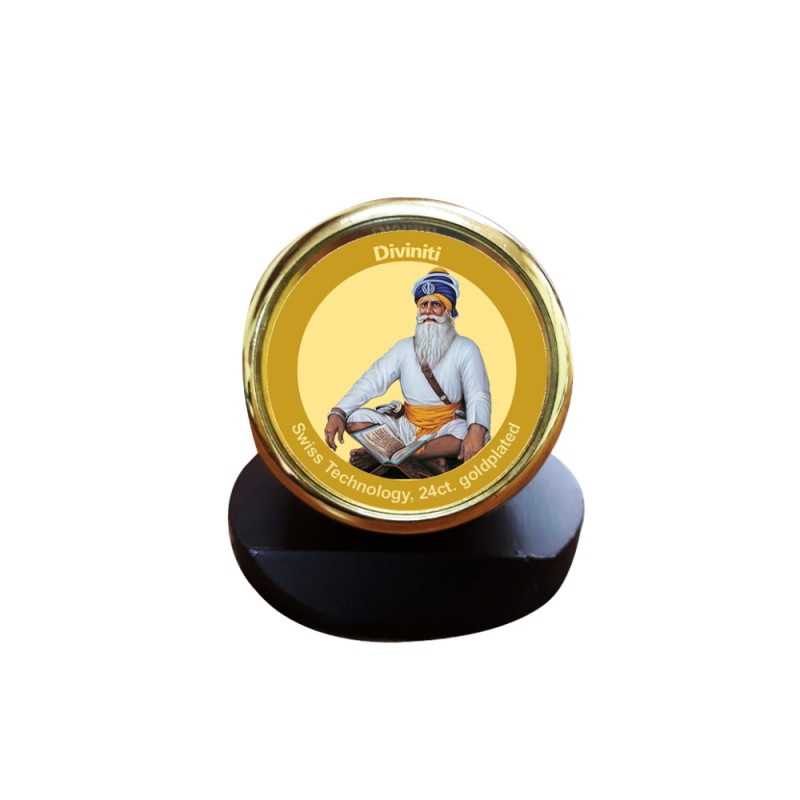 MCF 1C GLD CLASSIC COLOR CIRCULAR BABA DEEP SINGH