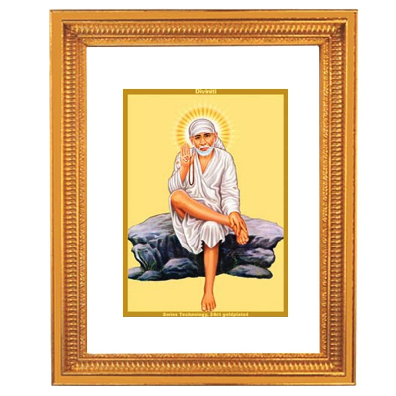 Sai baba rock pose