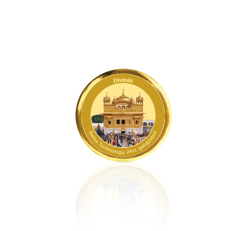 COIN SINGLE SIDED SIZE 3C GOLDEN TEMPLE