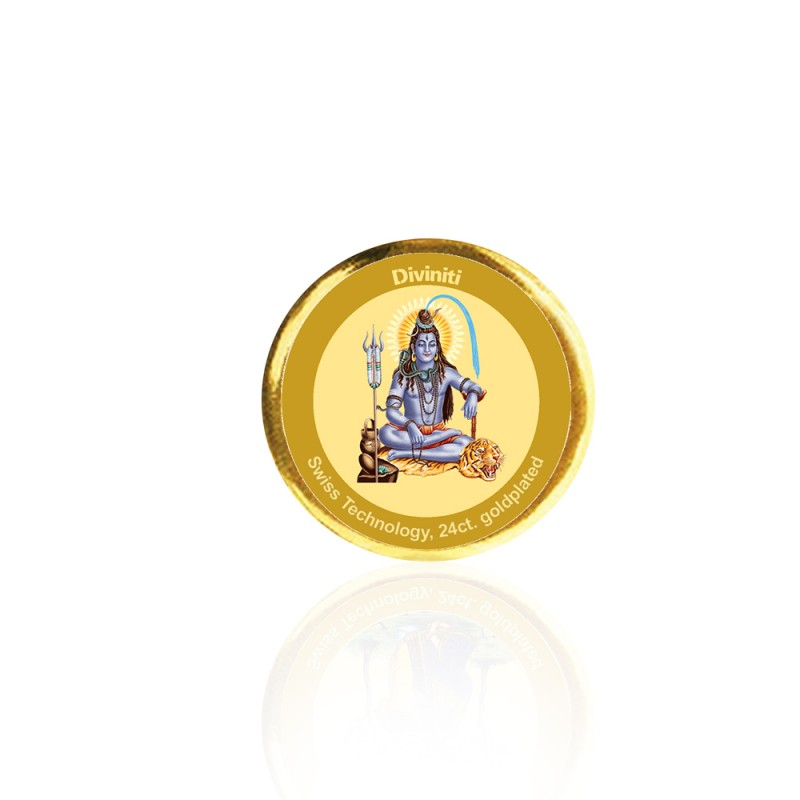 COIN SINGLE SIDED SIZE 3C SHIVA