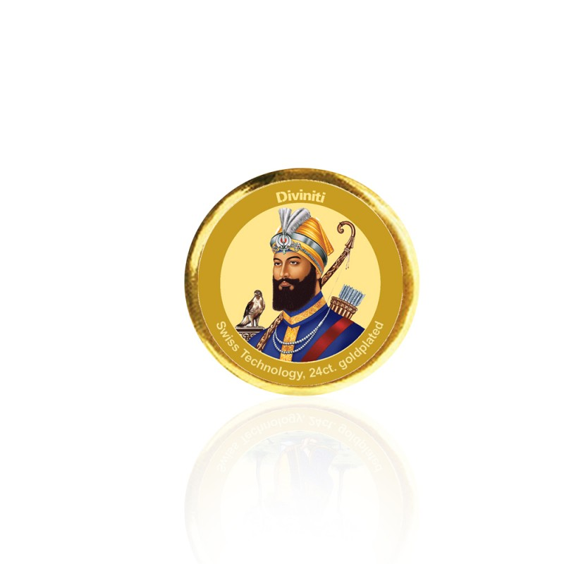 COIN SINGLE SIDED SIZE 3C GURU GOBIND SINGH