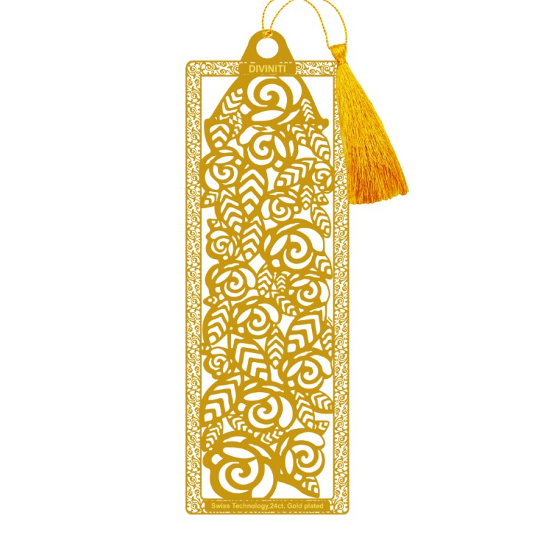 BOOKMARK ACRYLIC   FLORAL