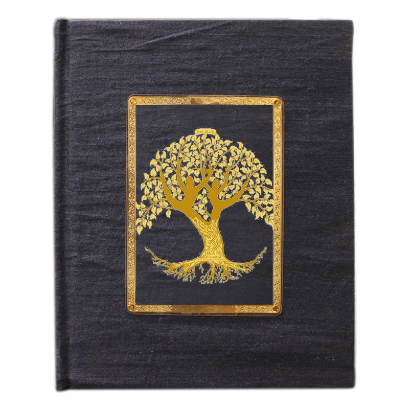 JOURNAL & NOTEBOOK ACRYLIC LADY TREE