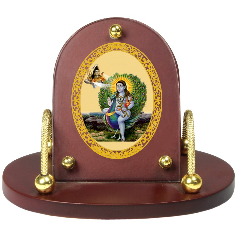 24K GOLD PLATED MDF 7D+ ROYALE CLASSIC BABA BALAKNATH
