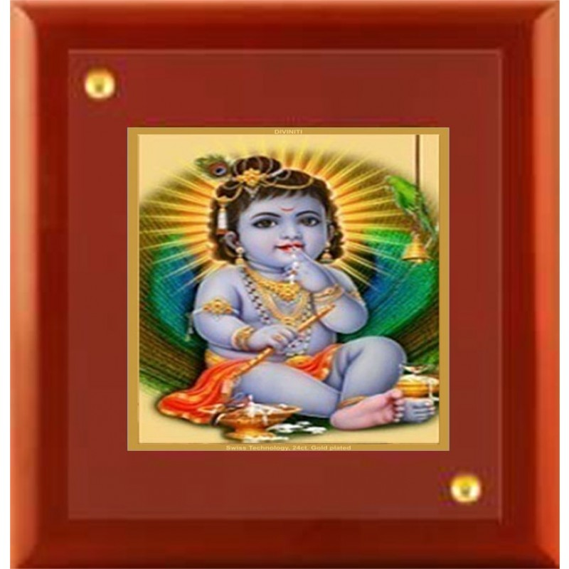 24K GOLD PLATED MDF FRAME SIZE 1A CLASSIC COLOR BAL GOPAL -1