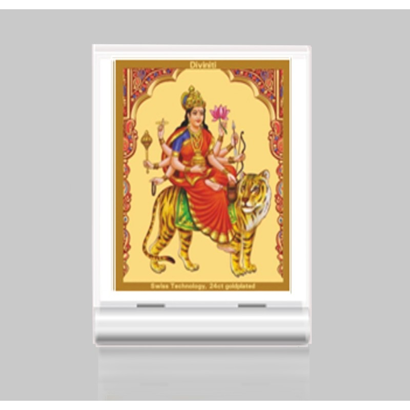 24K GOLD PLATED ACF 3 CLASSIC COLOR DURGA - CHANDRAGHANTA