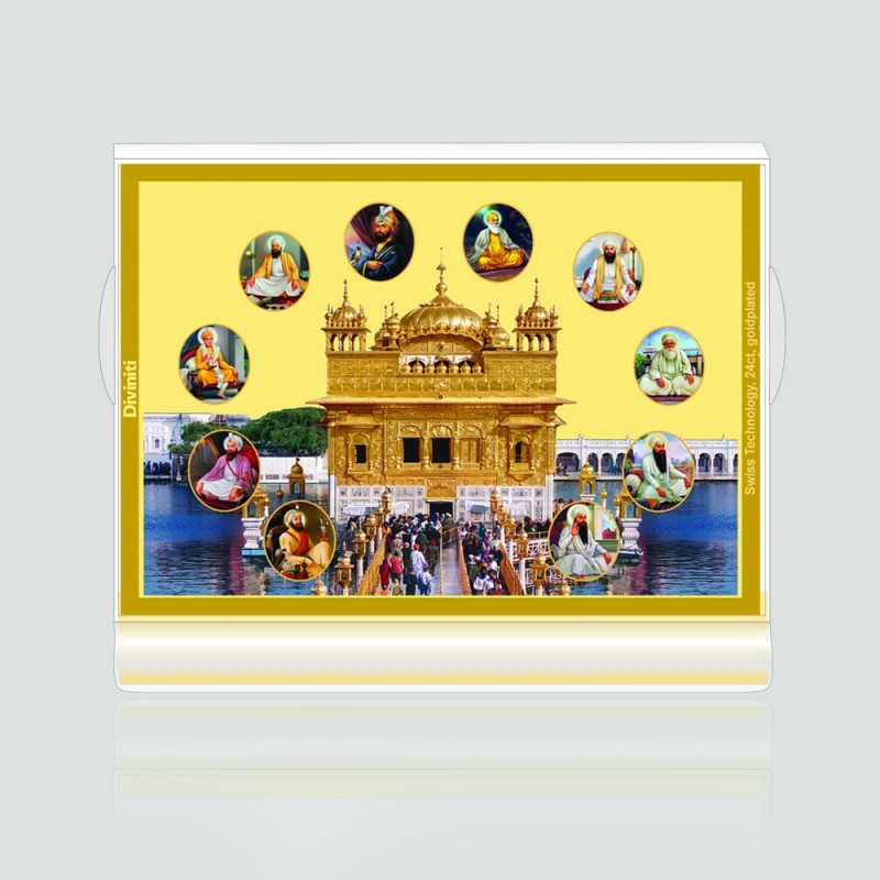 24K GOLD PLATED ACF 3 CLASSIC COLOR GOLDEN TEMPLE