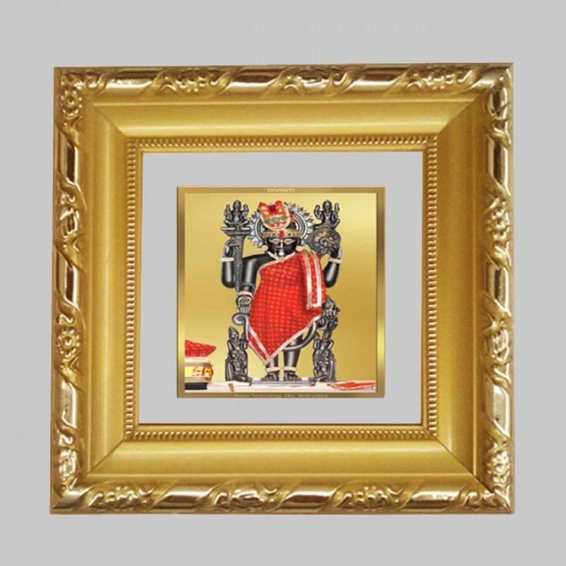 24K GOLD PLATED DG FRAME 103 SIZE 1A CLASSIC COLOR DWARIKADHEESH