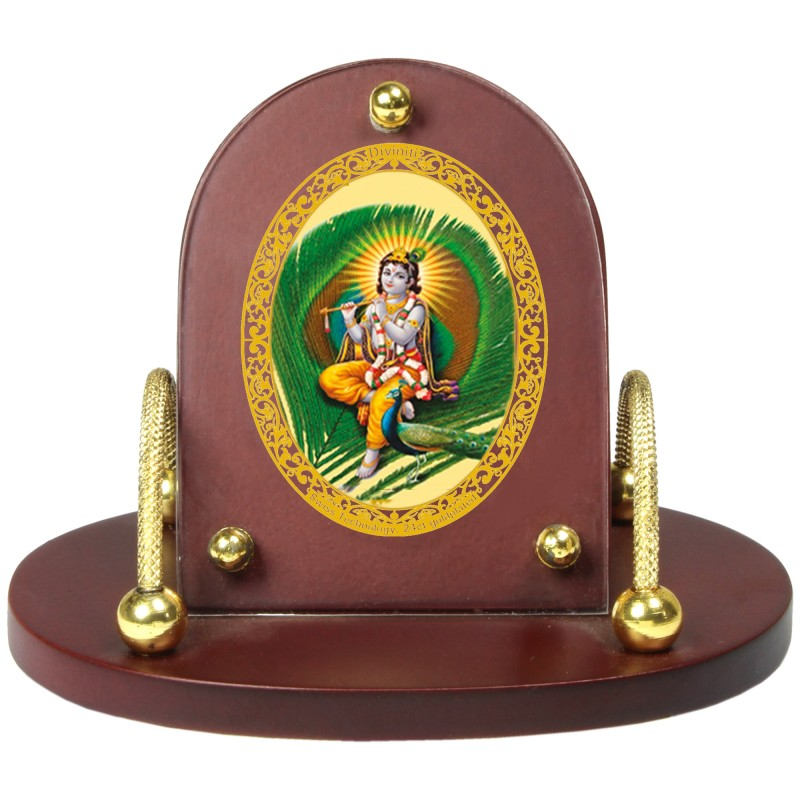 24K GOLD PLATED MDF 7D+ ROYALE CLASSIC KRISHNA -1