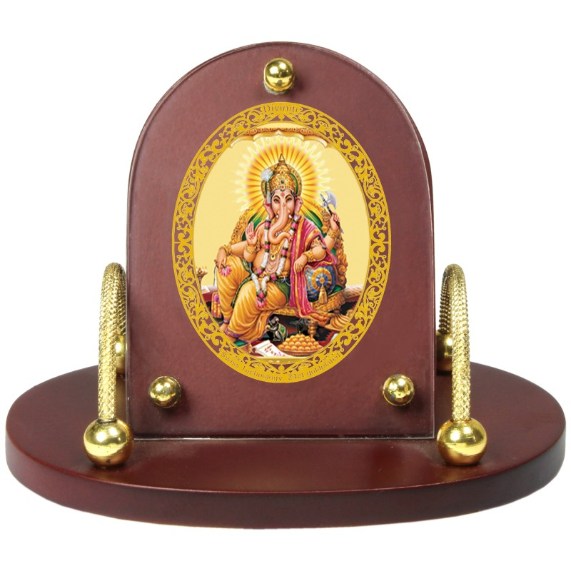 24K GOLD PLATED MDF 7D+ ROYALE CLASSIC GANESHA