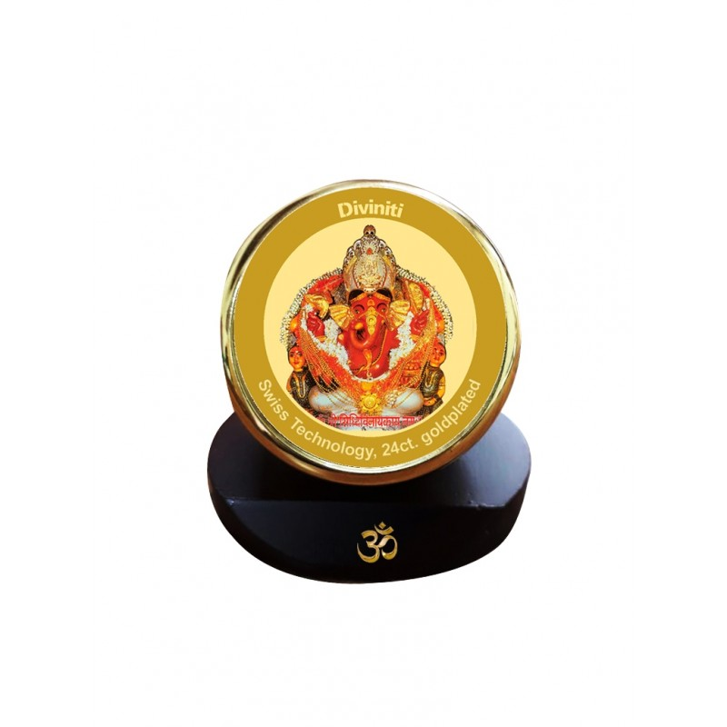 24K GOLD PLATED MCF 1C GLD CLASSIC COLOR SIDDHIVINAYAK