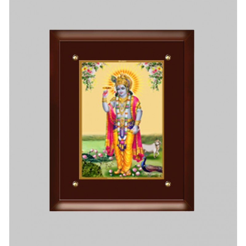 24K GOLD PLATED MDF FRAME  SIZE 3 CLASSIC COLOR KRISHNA -5