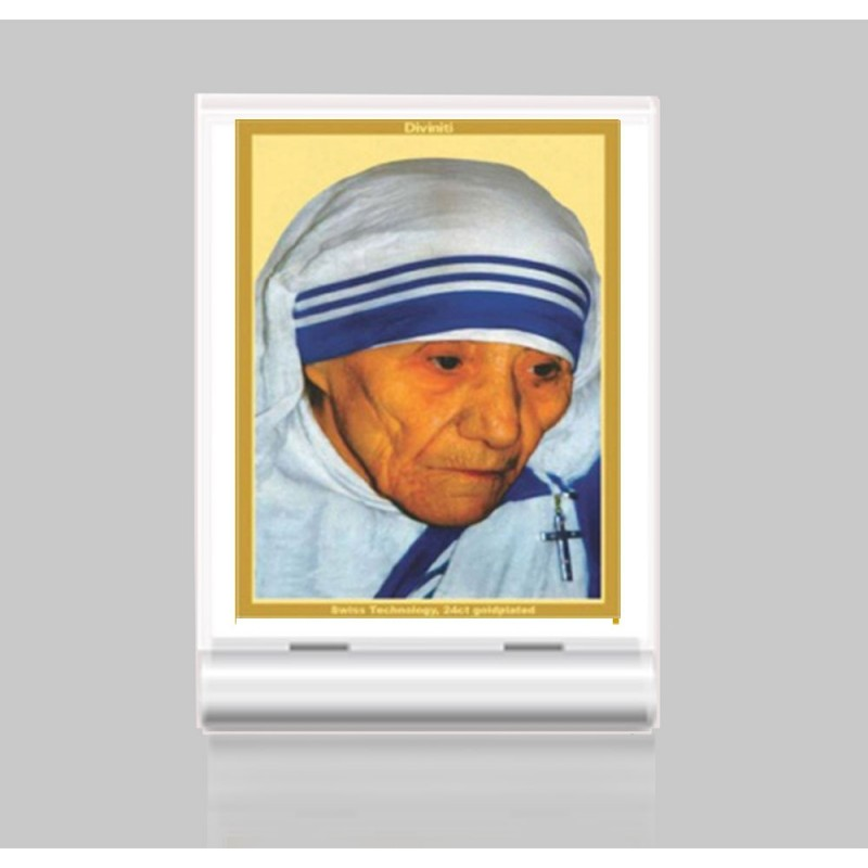 24K GOLD PLATED ACF 3 CLASSIC COLOR MOTHER TERESA