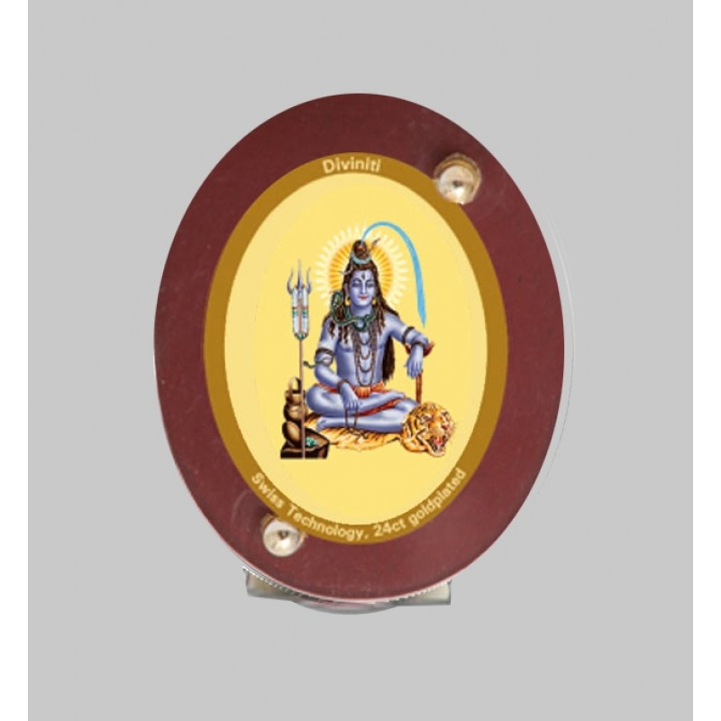 24K GOLD PLATED MDF 1D CLASSIC COLOR SHIV JI