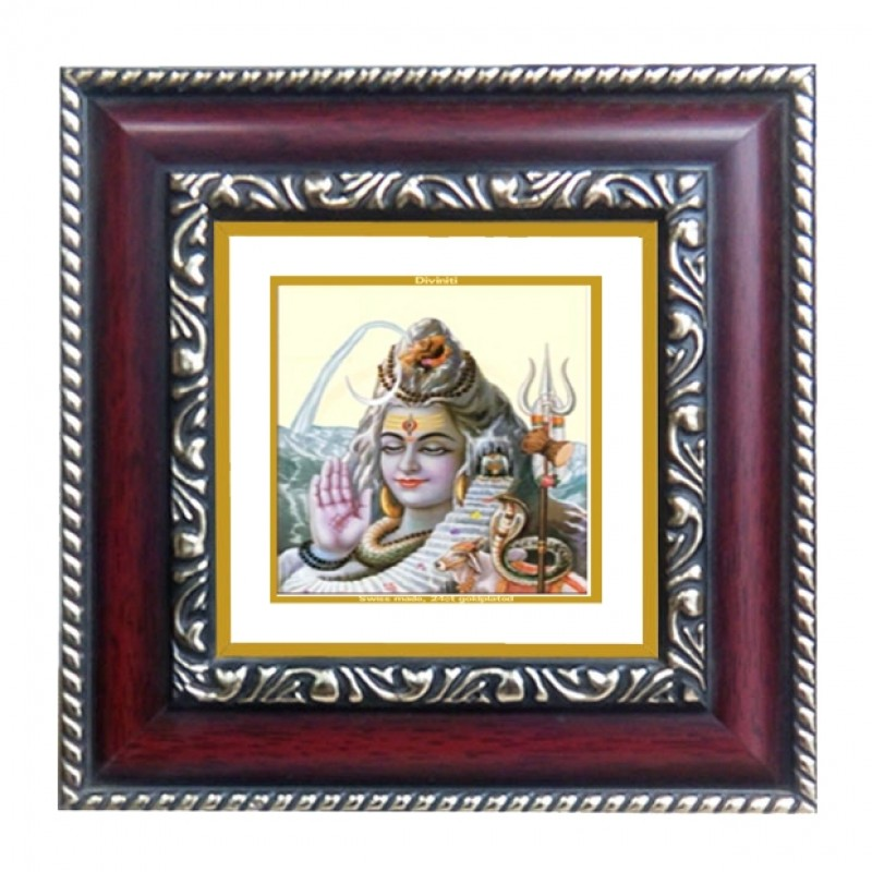 24K GOLD PLATED DG FRAME 105 SIZE 1A CLASSIC COLOR SHIVA-3
