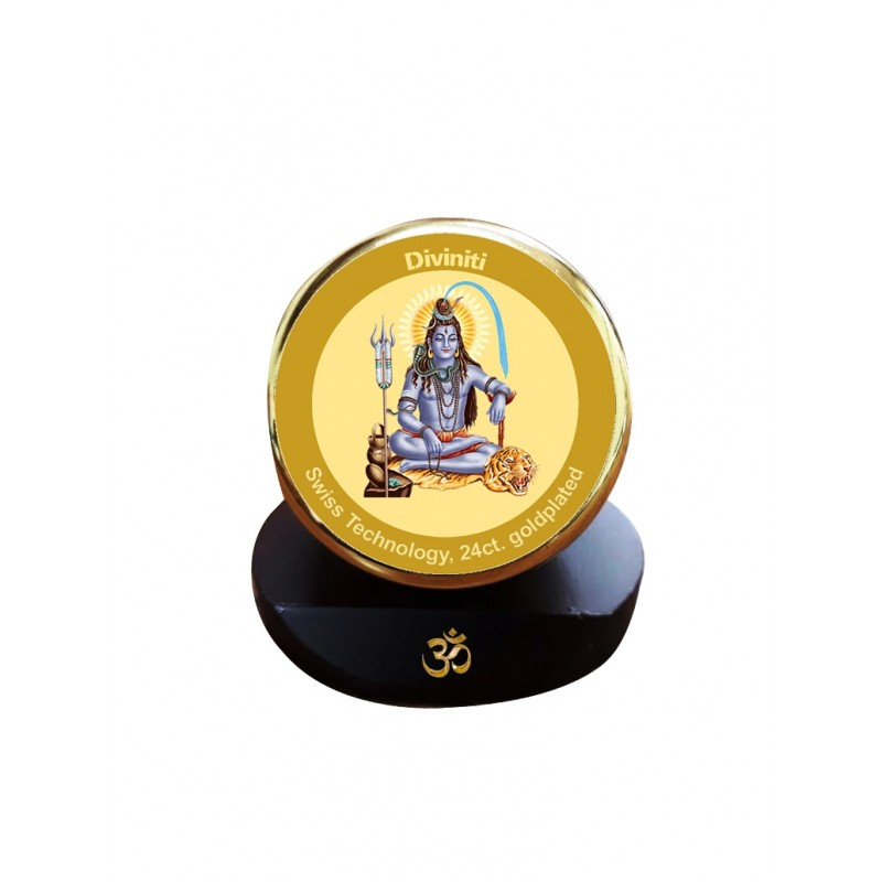 24K GOLD PLATED MCF 1C GOLD CLASSIC COLOR SHIVA