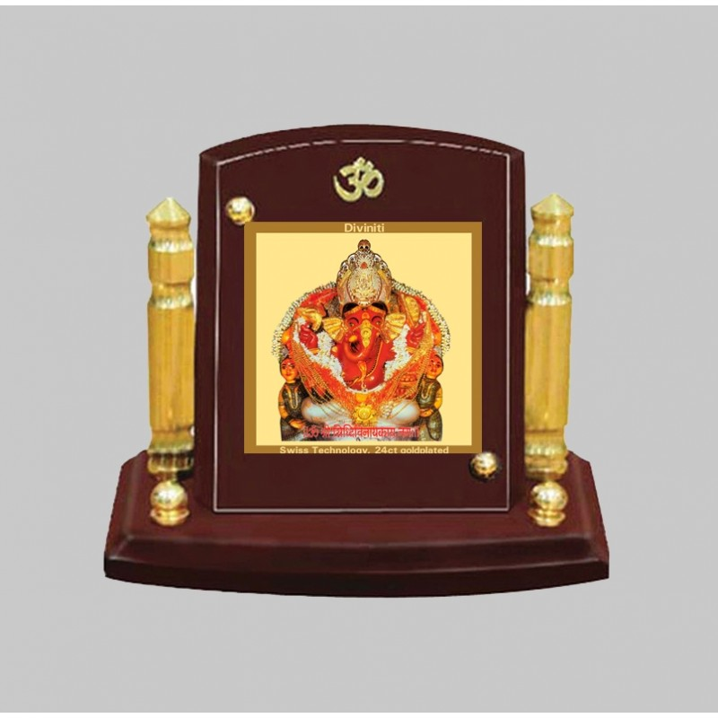24K GOLD PLATED MDF 1B P+ CLASSIC COLOR SIDDHIVINAYAK