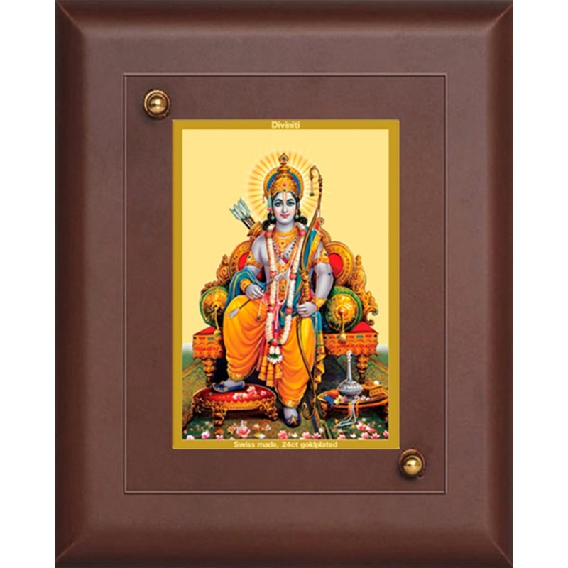 24K GOLD PLATED MDF FRAME SIZE 2.5 CLASSIC COLOR RAM JI