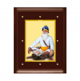 24K GOLD PLATED MDF FRAME SIZE 5 CLASSIC COLOR BABA DEEP SINGH