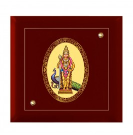 24K GOLD PLATED MDF FRAME SIZE 7D ROYALE COLOR MURUGAN