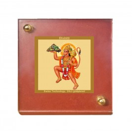 MDF 1B CLASSIC COLOR  SQUARE HANUMAN WITH MOUNTAIN